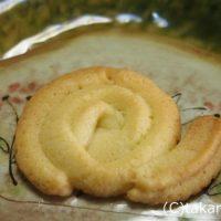 こどもが作ってくれたかたつむりクッキー!