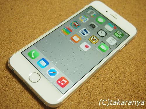 iphone6にELECOM製のシンプルなケースを買いました