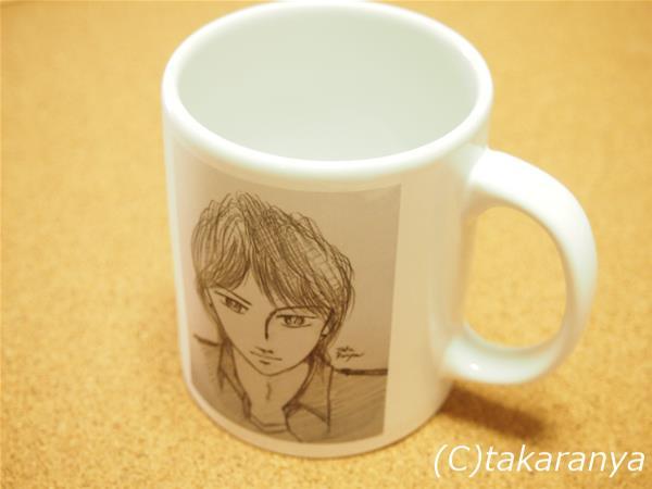suzuriで作成したマグカップ