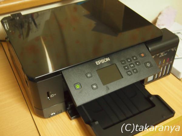 エプソンプリンタ複合機EW-M770T