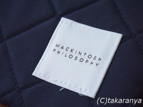 MackintoshPhilosophyのロゴ付き