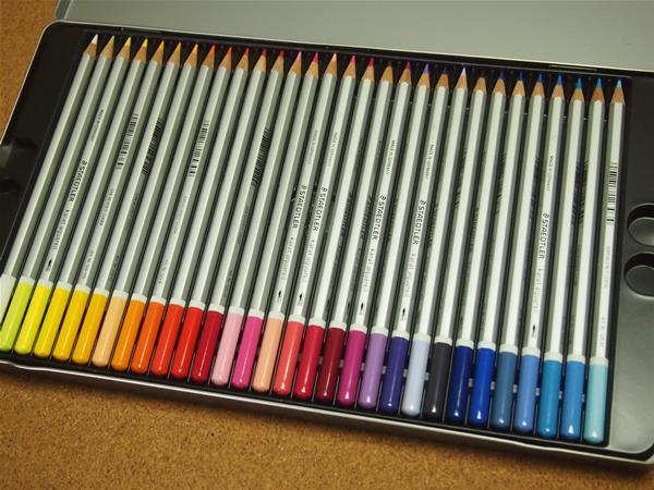ステッドラー水彩色鉛筆